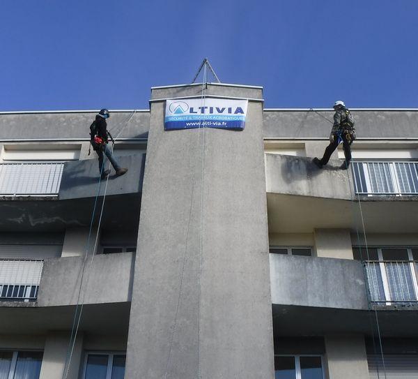 travaux acrobatiques